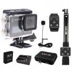 SJCAM SJ6 LEGEND(Black) + Battery + DualCharger + BAG(L) + RemoteSelfie + RemoteBand + ExternalMic