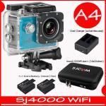 SJ4000 Wi-Fi (Blue)+Battery+Dual Charger+BAG(L)