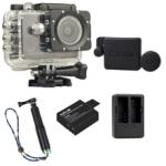 Sj5000X (Black)+(Battery+Dual charger+Protective Lans+TMC Green)