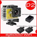 SJ5000X (Yellow)+ Battery + Dual Charger