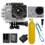 Sj5000 WiFi (Silver) +Battery+Dual Charger+Bobber Floatting