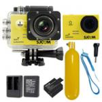 Sj5000 WiFi (Yellow) +Battery+Dual Charger+Bobber Floatting