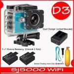 SJ5000X (Blue)+ Battery + Dual Charger + Bobber