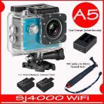 SJ4000 Wi-Fi (Blue)+Battery+Dual Charger+TMC Selfie