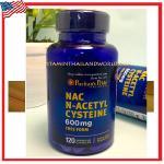 NAC N-Acetyl Cysteine 600 mg 120 capsules ( Puritan' s Pride )
