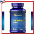Puritans Pride L-Carnitine 500mg 120 tablets