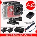 SJ4000 Wi-Fi (Red)+Battery+Dual Charger+BAG(L)+TMC Selfie