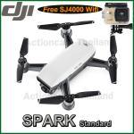 DJI SPARK(White) Free SJCAM SJ4000 WiFi (Gold)