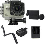 X1000 (Silver) +(Extra Battery+DualCharger+3 Way+ProtectiveLens)