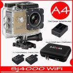 SJ4000 Wi-Fi (Gold)+Battery+Dual Charger+BAG(L)