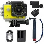 X1000 Yellow +Extra Battery+Dual Charger+Protective Lens+TMC Selfie (Red)