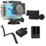 Sj5000X (Blue) +(Battery+Dual charger+Protective Lans+3 Way)
