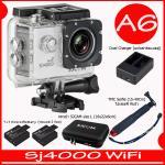 SJ4000 Wi-Fi (White)+Battery+Dual Charger+BAG(L)+TMC Selfie