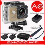 SJ4000 Wi-Fi (Gold)+Battery+Dual Charger+BAG(L)+TMC Selfie