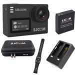 SJ6LEGEND(Black) + Battery +Dual Charger + Remote band + SJCAM Bag