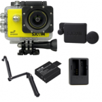 X1000 (Yellow) +(Extra Battery+DualCharger+3 Way+ProtectiveLens)
