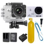 Sj5000 WiFi (White) +Battery+Dual Charger+Bobber Floatting