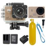 Sj5000 WiFi (Gold) +Battery+Dual Charger+Bobber Floatting