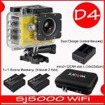 SJ5000X (Yellow)+ Battery + Dual Charger + Bag(L)