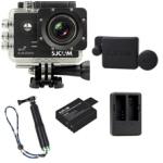 Sj5000 WiFi (Black)+(Battery+Dual charger+Protective Lans+TMC Green)