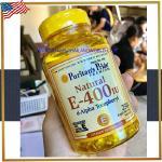 Vitamin E Natural 400 IU / 250 Softgels ( Puritan's Pride )