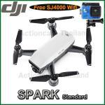 DJI SPARK(White) Free SJCAM SJ4000 WiFi (Blue)