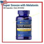 Super Snooze with Melatonin Complex 100 Capsules