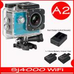 SJ4000 Wi-Fi (Blue)+Battery+Dual Charger