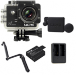 Sj5000 WiFi (Black) +(Battery+Dual charger+Protective Lans+3 Way)
