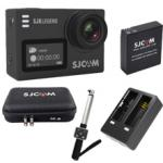 SJ6LEGEND(Black) + Battery +Dual Charger + Remote selfie + SJCAM Bag