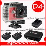 SJ5000X (Red)+ Battery + Dual Charger + Bag(L)