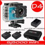SJ5000X (Blue)+ Battery + Dual Charger + Bag(L)