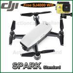 DJI SPARK(White) Free SJCAM SJ4000 WiFi (Yellow)
