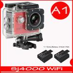 SJ4000 Wi-Fi (Red)+Battery