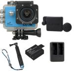 X1000 Blue +Extra Battery+Dual Charger+Protective Lens+TMC Selfie (Blue)