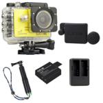 Sj5000X (Yellow)+(Battery+Dual charger+Protective Lans+TMC Green)