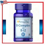 Vitamin B-Complex And Vitamin B-12 90 Tablets Puritan's Pride