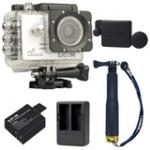 SJCAM SJ5000X Elite WiFi 4K (White) (+Extra Battery+DualCharger+TMC Gold+ProtectiveLens)