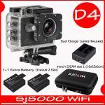 SJ5000X (Black)+ Battery + Dual Charger + Bag(L)