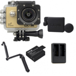 X1000 (Gold) +(Extra Battery+DualCharger+3 Way+ProtectiveLens)