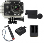 Sj5000 WiFi (Black)+(Battery+Dual charger+Protective Lans+TMC Red)