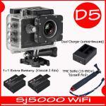 SJ5000X (Black)+ Battery + Dual Charger + TMC Selfie( 7 สี )