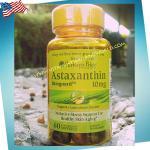 Astaxantin 10mg.60softgels