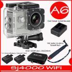SJ4000 Wi-Fi (Silver)+Battery+Dual Charger+BAG(L)+TMC Selfie