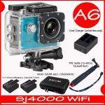SJ4000 Wi-Fi (Blue)+Battery+Dual Charger+BAG(L)+TMC Selfie