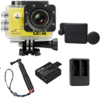 Sj5000 WiFi (Yellow)+(Battery+Dual charger+Protective Lans+TMC Red)