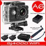SJ4000 Wi-Fi (Black)+Battery+Dual Charger+BAG(L)+TMC Selfie