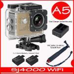 SJ4000 Wi-Fi (Gold)+Battery+Dual Charger+TMC Selfie