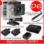 SJ5000X (Silver)+ Battery + Dual Charger + TMC Selfie + Bag(L)
