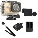 Sj5000X (Gold) +(Battery+Dual charger+Protective Lans+Monopod Selfie)